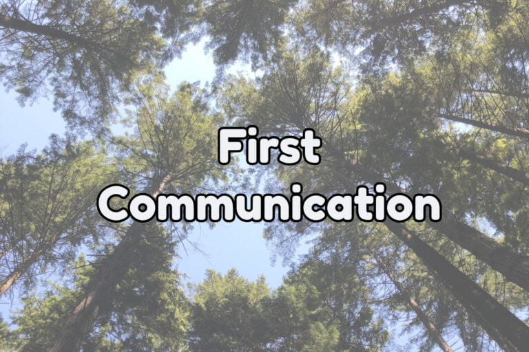 The First Communication